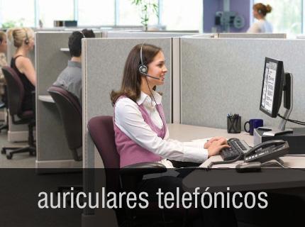 Auriculares telefónicos - Tén las manos libres cuando hablas por teléfono.  Mejora la postura y reduce la tensión muscular con Auriculares.