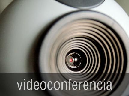 VIDEOCONFERENCIA - Reduzca costes de viajes, estancias en hoteles y tiempo dedicado mediante una conexión de video-conferencia que le permita ponerse en contacto con colegas y clientes.