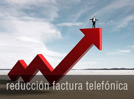 REDUCCION FACTURA TELEFONICA - Hasta un 35%. Todas las llamadas, Nacionales, Móvil, Internacionales y Líneas Inteligentes con la mejor calidad y a los mejores precios. Todo ello con una atención Personalizada.