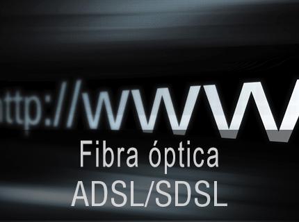 INSTALACIÓN ADSL - Respaldo Backup ante posibles caídas. SDSL: La solución para aquellas empresas que requieren de un ancho de banda simétrico.
