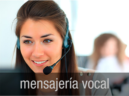 Mensajería vocal - Recoge llamadas en un buzón. Al regresar oye las llamadas grabadas.
